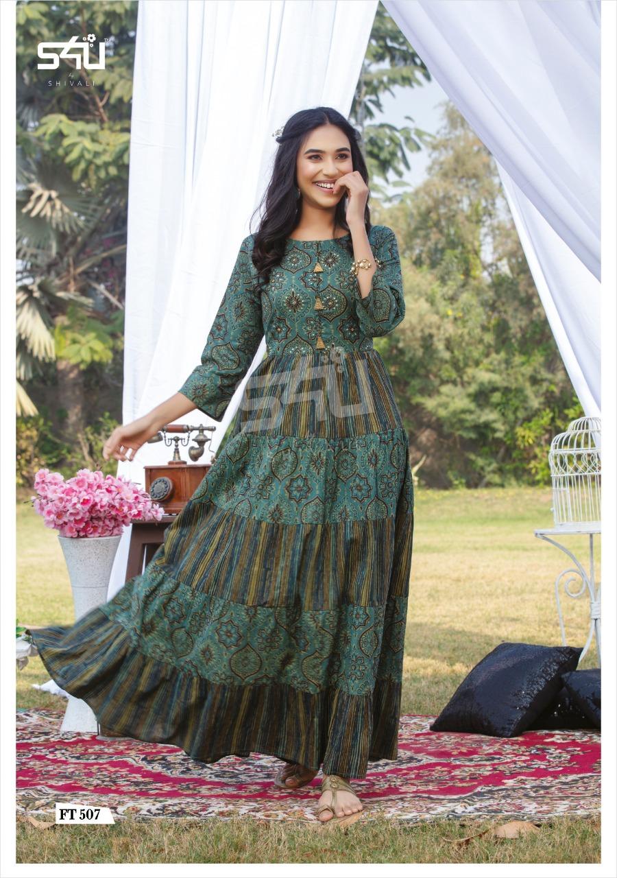 S4u Flairy Tales Vol 5 Designer Long Elegant Gowns Wholesale