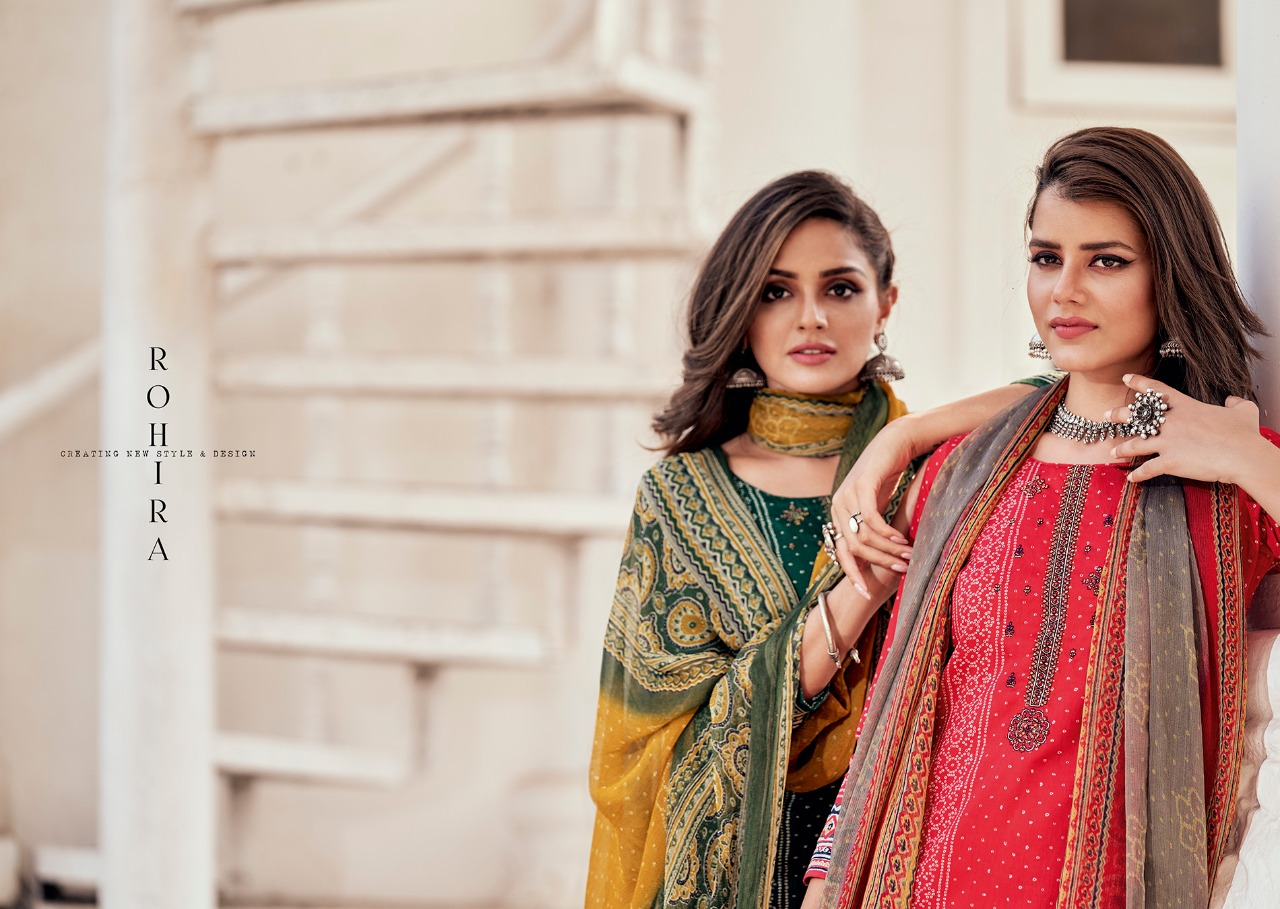 Kilory Rohira Designer Cambric Digital Print With Embroidery Work Suits Wholesale