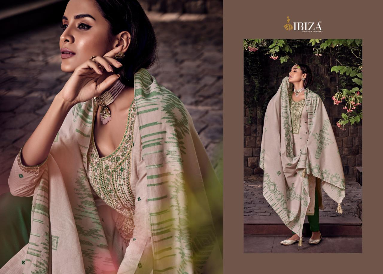 Ibiza Charmer Designer Pure Lawn Cotton With Digital Print With Fancy Embroidery Work Suits Wholesale