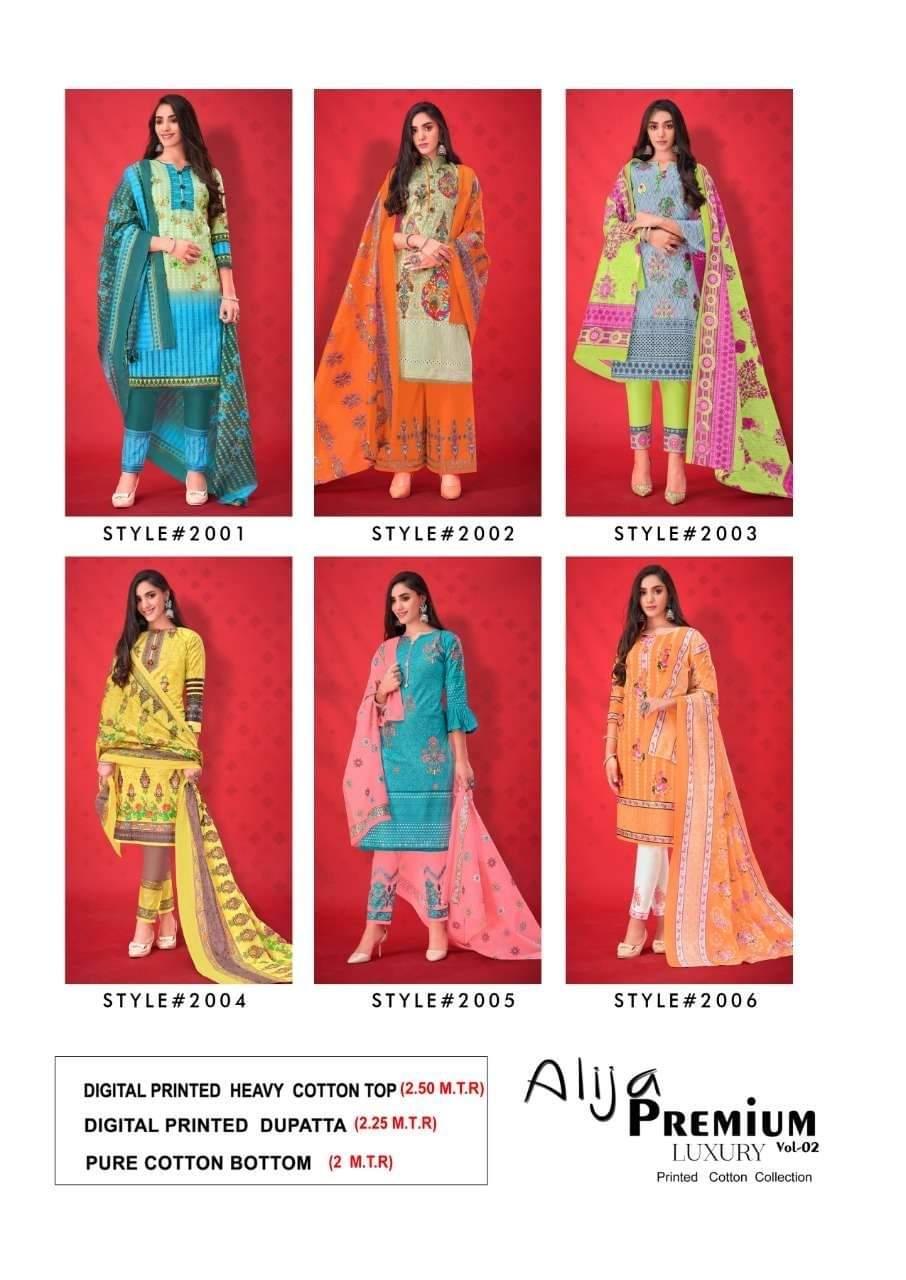 Keval Fab Alija B Vol 2 Designer Heavy Cotton Printed Low Range Suits Wholesale