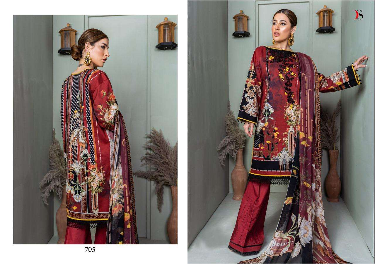 DEEPSY SUITS FIRDOUS 9 PASHMINA SHAWL DUPATTA DESIGNER PASHMINA PRINT WITH EMBROIDERY WORK WINTER WEAR SUITS WHOLESALE